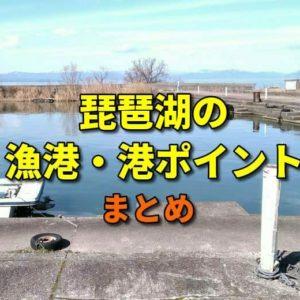 琵琶湖の漁港・港のポイントのまとめ