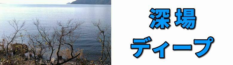 琵琶湖のディープエリアのポイント一覧