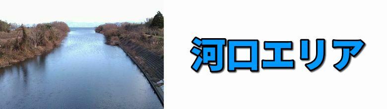 琵琶湖の河口エリア一覧